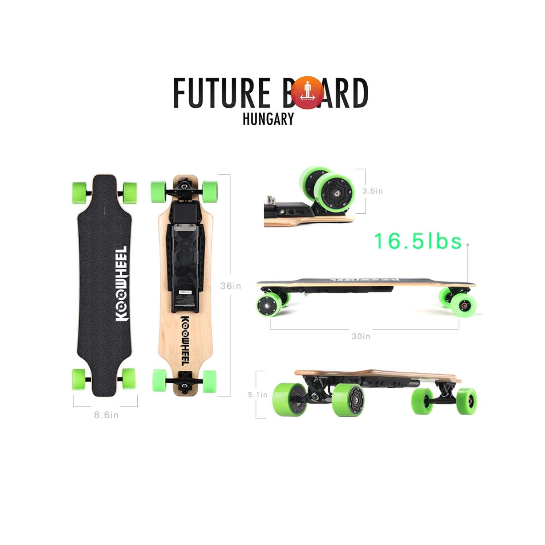 f9cbb3169b1f Future Skateboard (Koowheel D3M elektromos gördeszka) - Koowheel ...