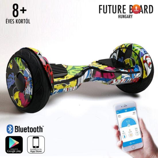 Future Board Hero X10 - Ajándék Bluetooth zenelejátszás