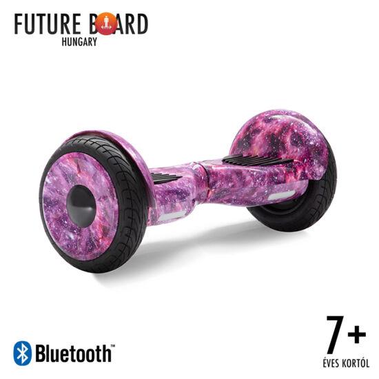 Future Board Galaxy Pink X10 - Bluetooth zenelejátszás - Ajándék táska