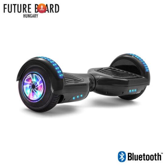 Future Board Black X6 - Bluetooth - Világítós kerekek - Táska