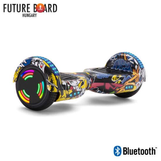 Future Board Hero X6 - Bluetooth - Világítós kerekek - Táska