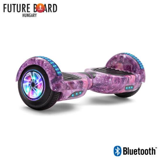 Future Board Pink Galaxy X6 - Bluetooth - Világítós kerekek - Táska