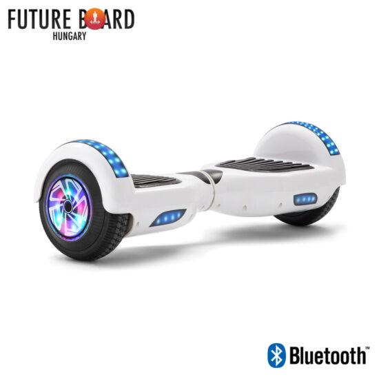 Future Board White X6 - Bluetooth - Világítós kerekek - Táska