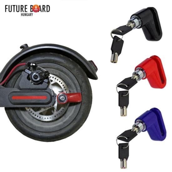 Univerzális tárcsazár rollerekhez és kerékpárokhoz