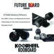 Koowheel - KOOBOARD ONYX - 4300mAh - 2. generációs elektromos gördeszka + Ajándék táska