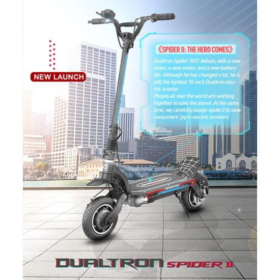 Dualtron SPIDER II - 60V - LG 30AH AKKU - 3984W Dual Motor