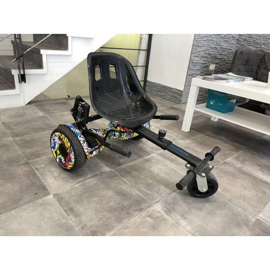 10 inch hoverboard + Cart - használt
