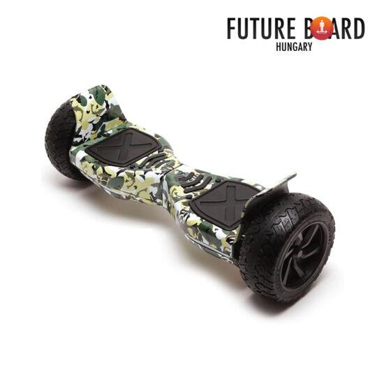 Future Board X7 Camouflage - OFF ROAD - Bluetooth zenelejátszás - Ajándék táska