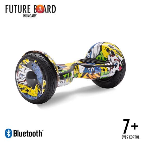 Future Board Hero X10 - Bluetooth zenelejátszás - Ajándék táska - Kiállított darab