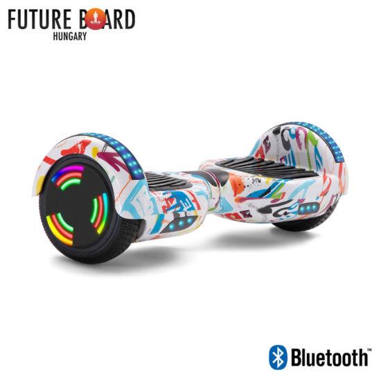 Future Board Play X6 - Bluetooth - Világítós kerekek - Táska